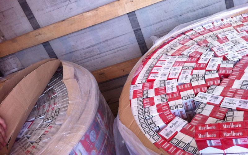 Đerdap: zaplenjeno 9.990 paklica cigareta
