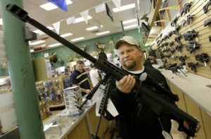 Prodavnica oruzja u americkoj drzavi Teksas
