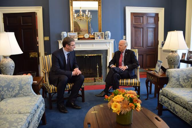 Vučić danas u Vašingtonu razgovarao sa Džozefom Bajdenom