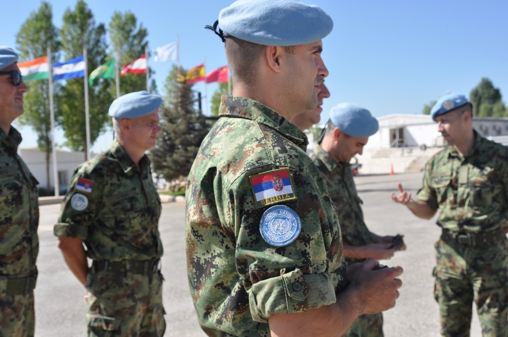 U poseti srpskim mirovnjacima u misiji UNIFIL na jugu Libana