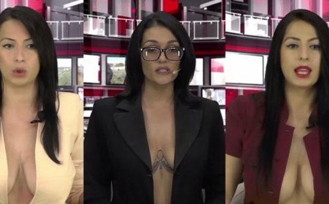 Albanija: Polugole TV voditeljke donose novosti iz sveta