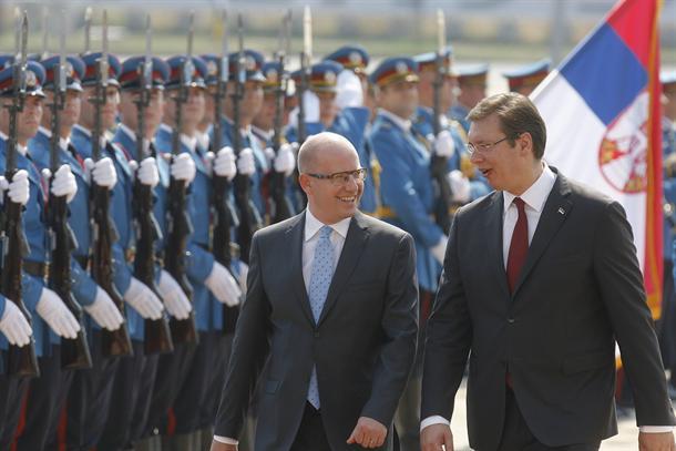 Premijer Češke u Beogradu