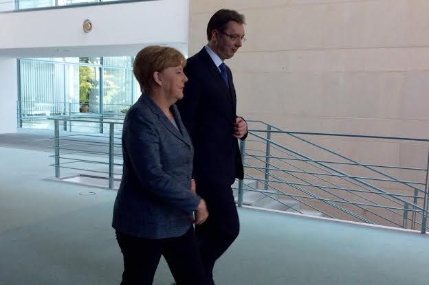 Berlin: susret Merkelove i Vučića u znaku azilanata iz Srbije i izbeglica iz Sirije