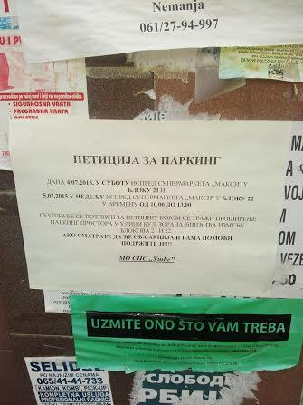 Prekopavanje na početku Bulevara Zorana Đinđića – Predizborni trik, a ne odgovor na probleme