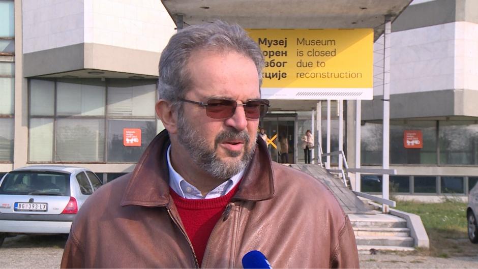 Slobodan Nakarada v.d. direktora Muzeja savremene umetnosti