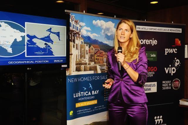 Tivat: Luštica Bay predstavljen u Beogradu
