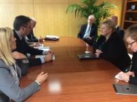 Madrid: Vučić razgovarao sa premijerkom Norveške Ernom Sulberg o migrantskpoj krizi