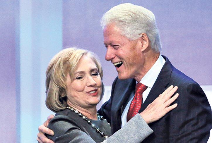 Kandidatkinja za predsednicu SAD Hilari godinama tuče supruga Bila Klintona