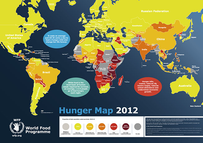 Svetom vlada i – glad