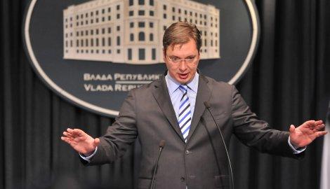 Konferencija za medije Aleksandra Vućića: MMF hoće više, ja neću veće plate i penzije!
