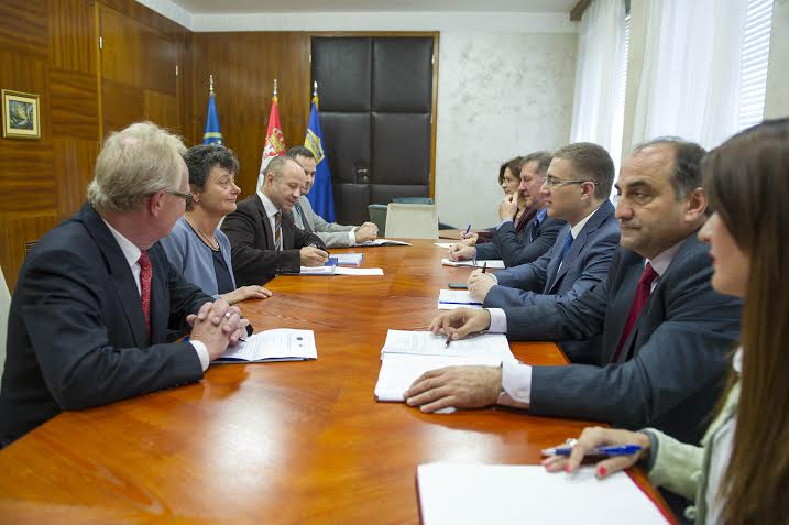 Stefanović razgovarao sa izvestiocem Komiteta za migracije PSSE Tineke Strik