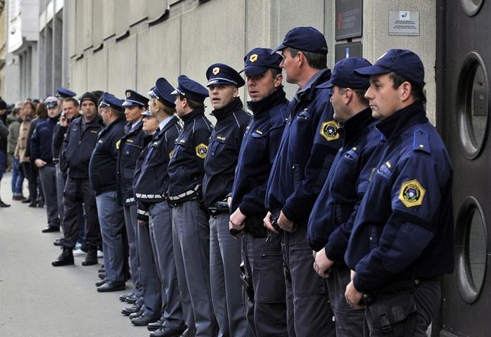 Štrajk slovenačke pogranične policije