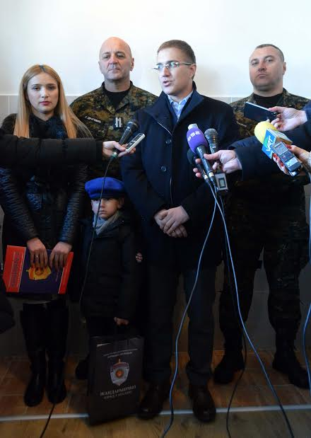 Stan porodici stradalog pripadnika Žandarmerije Stevana Sinđelića