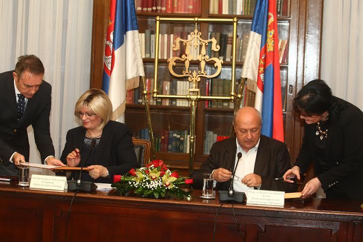 Potpisan Memorandum o saradnji NBS i EF