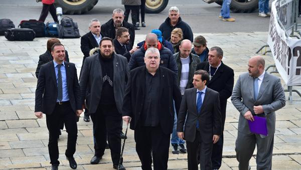 Sutra u Beogradu protest LSV