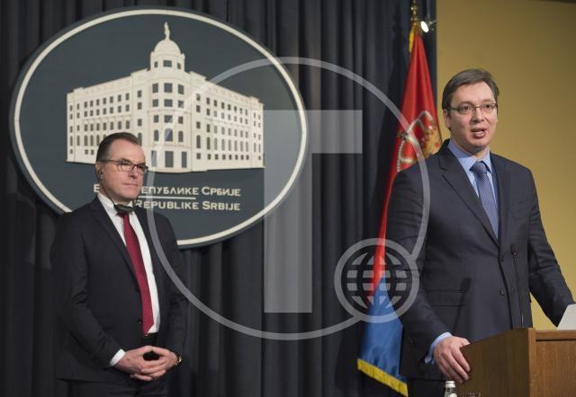 Vučić razgovarao sa vlasnikom Tenisa