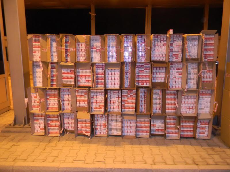 Šid: zaplenjeno 73.000 kutija cigareta