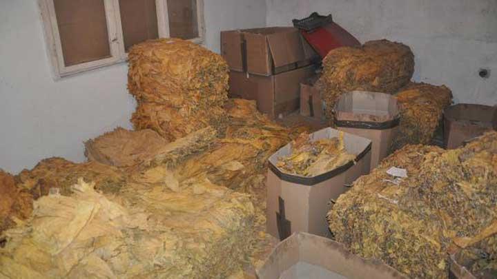 Policija zaplenila 4.213 kilograma duvana