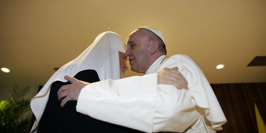 Istorijski susret pape Franje i patrijarha Kirila