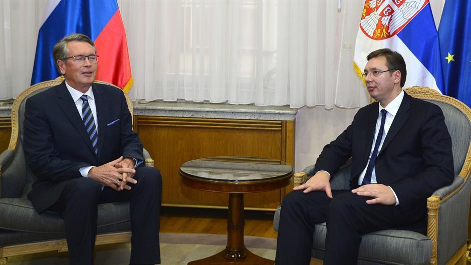 Ambasador Čepurin razgovarao sa premijerom Vučićem