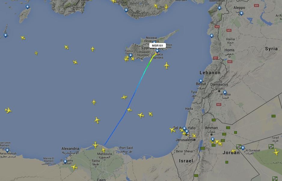 Jutros otet egipatski avion