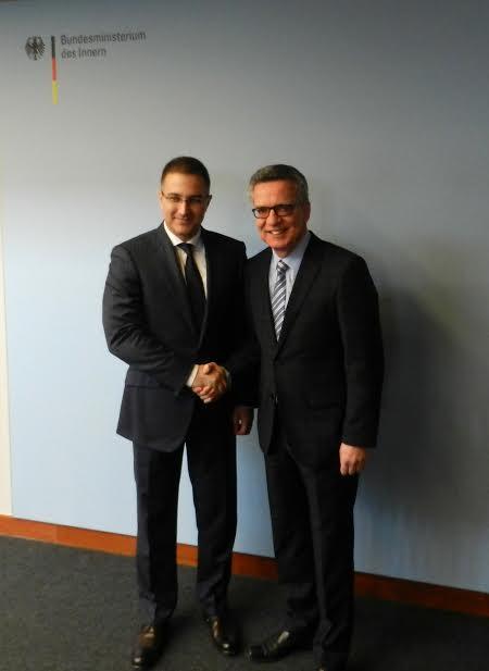 Berlin: potpisan sporazum o policijskoj saradnji Beograda i Belina