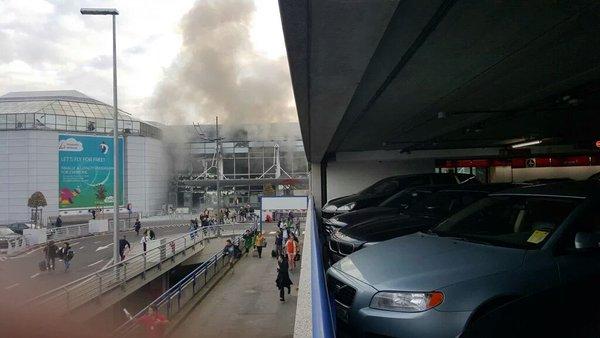 Jutros su dve eksplozije potresle briselski aerodrom