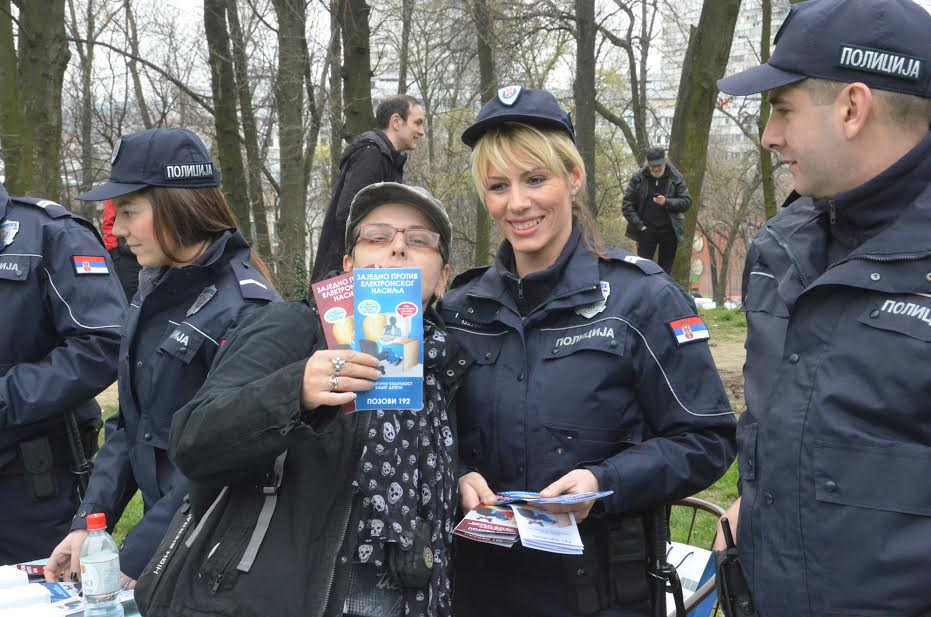 """Beograd: akcija """"Policajac u zajednici"""""""