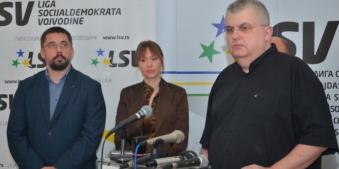 Glavni odbor LSV zabranio koalicije sa SNS, SPS, JS, SRS, DSS..