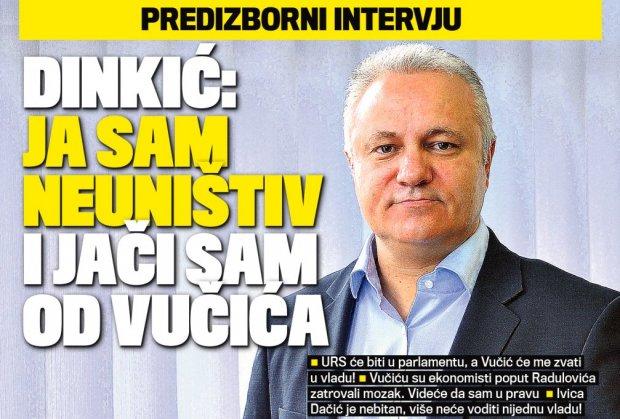 """Muzički dinar"" Mlađana Dinkića – neustavan"