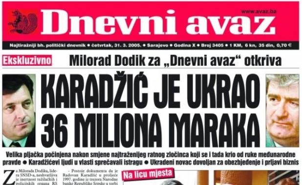 Vremeplov: šta je Dodik govorio o Radovanu Karadžiću