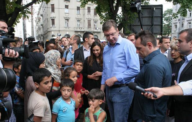 Aleksandar Vučić: Izbeglice su uzdrmala temelje EU