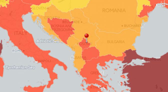 Balkan pod  velikim rizikom od terorizma