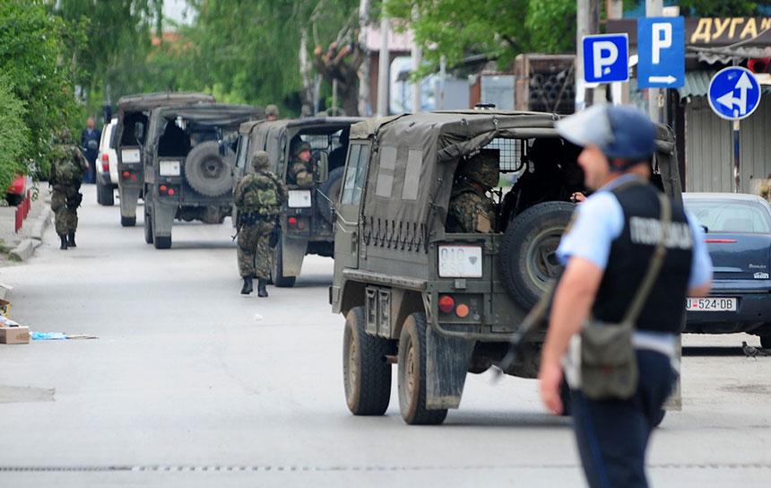 Lokal terorizam: Akcija makedonske policije na granici s Kosovom