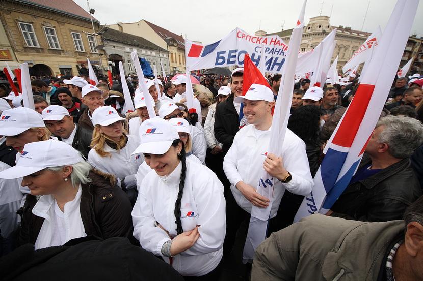 Izbori 2016: Održan predizborni miting SNS u Sremskoj Mitrovici