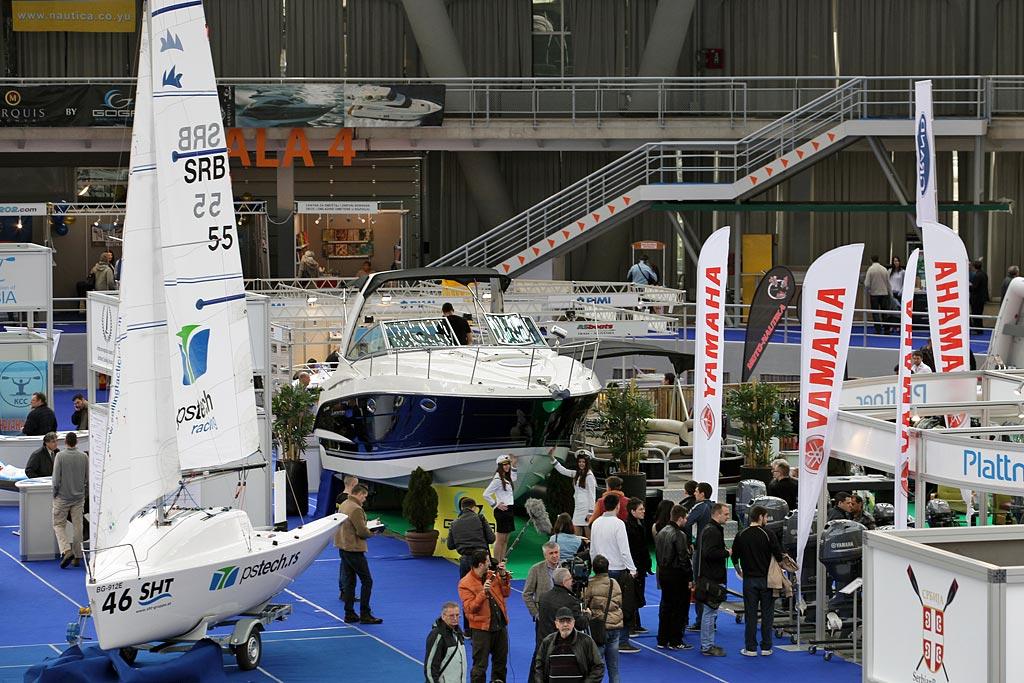 Od 30. marta do 3. aprila  38. međunarodni sajam nautike, lova i ribolova