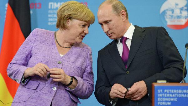 Putin ruši Merkelovu