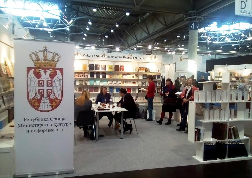 Uspešan nastup Srbije na Međunarodnom sajmu knjiga u Lajpcigu