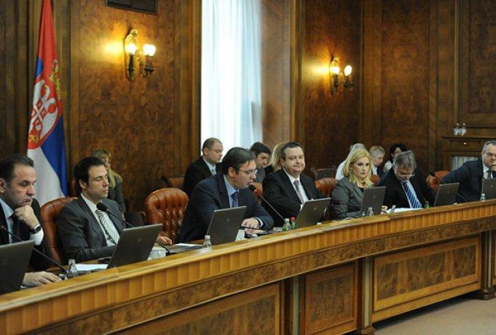 Vlada uputila predlog predsedniku Nikoliću da raspusti Skupštinu