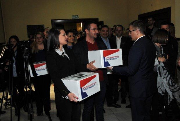 Izbori 2016: Naprednjaci predali izbornu listu
