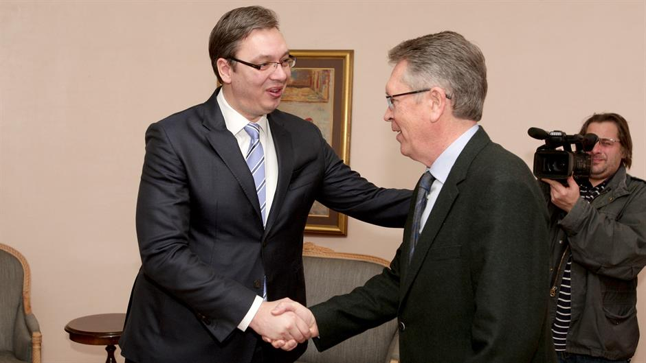 Protokol: Vučić primio Čepurina