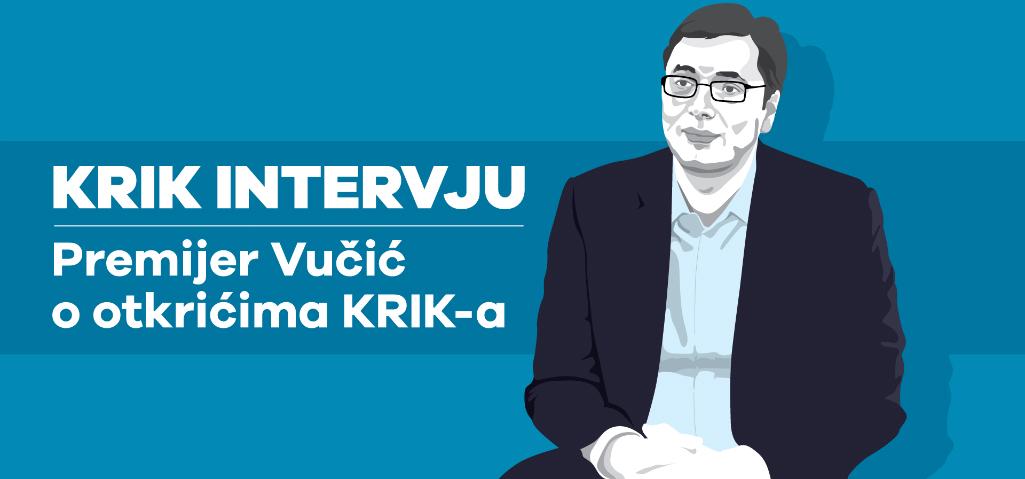 Pozajmljeni intervju: Šta je Aleksandar Vučić rekao novinaru Mreže za istraživanje kriminala i korupcije (KRIK)?