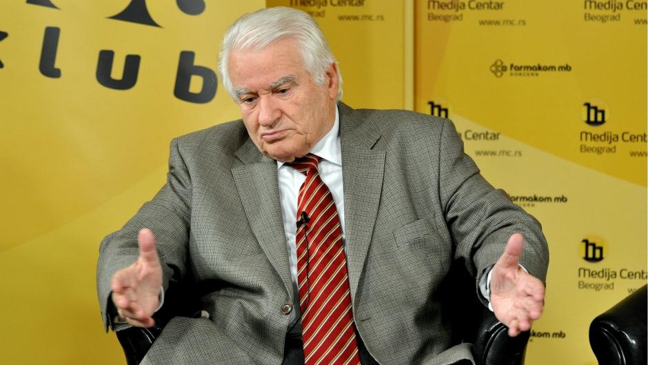 Dragoljub Mićunović za Radio Novosti: Ne isključujem da Tadić, Jovanović i Čanak uđu u vladu sa SNS