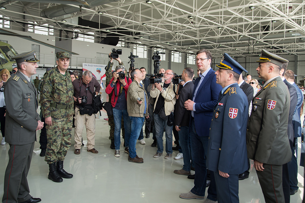 Otvoren novi hangar na aerodromu Batajnica