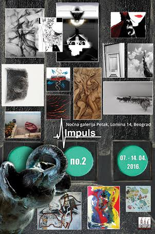 Od suta drugi deo izložbe Kreativne fabrike – Impuls no.2