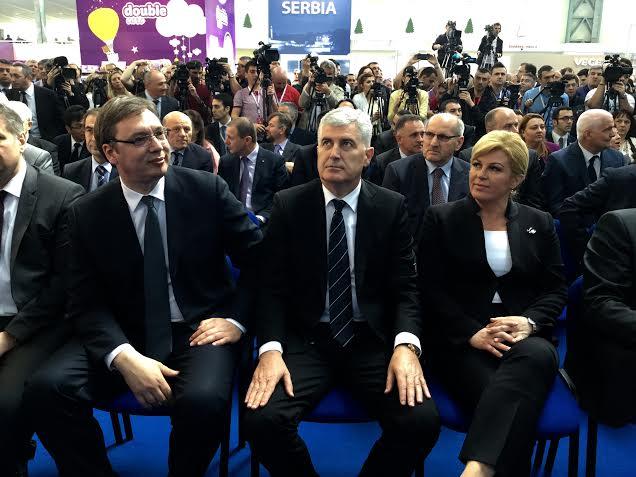 Vučić posetio Međunarodni sajam u Mostaru