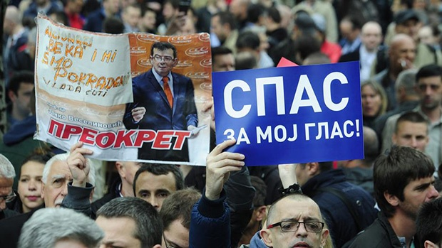 Protesti opozicije:Vučiću ćeraćemo se još