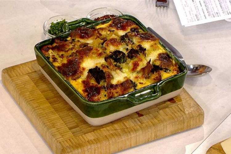 Recepti: Musaka od brokolija, pečuraka i jaja