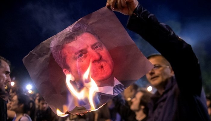 Skopje: demonstranti  se sukobili sa policijom