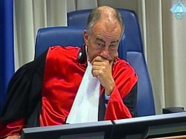 """Smenjeni haški sudija Harhof: """"Bio sam zapanjen oslobađajućim presudama Perišiću, Šešelju, Gotovini…"""""""